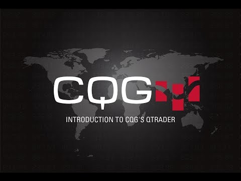Introduction to CQG's QTrader