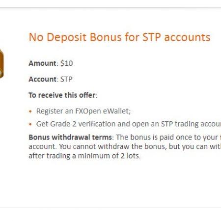 FXOpen No Deposit Bonus Review