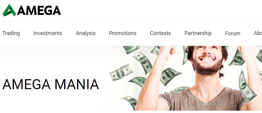 AMEGA No Deposit Bonus Review